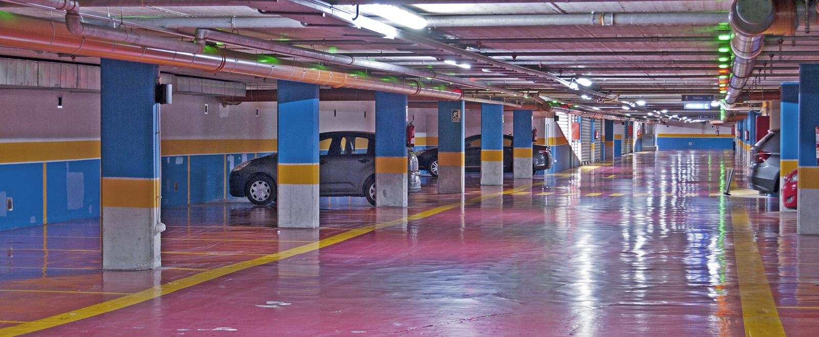 Zona aparcamiento
